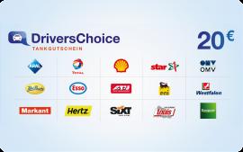 Drivers Choice 20,00 Euro